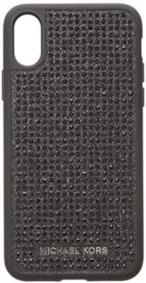Michael Kors Black Pave Phone Cover 8