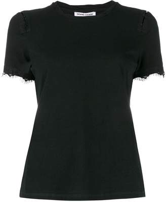 Opening Ceremony lace-hem short-sleeve T-shirt