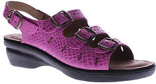 Spring Step Flexus by Wedge Sandals - Adriana
