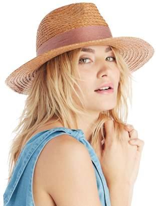 Wide Brim Raffia Hat $26.95 thestylecure.com