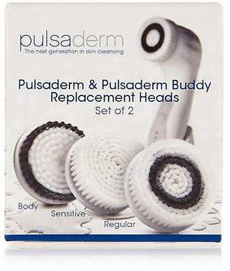 Pulsaderm Replacement Brush Heads Super Sensitive (online only)