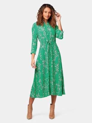 Margot Button Through Dress