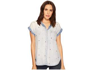 Stetson Tencel Short Sleeve Blouse Women's Clothing