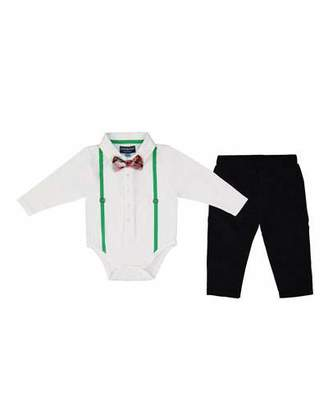 Andy & Evan Polo ShirtzieTM w/ Pants, Size 0-24 Months