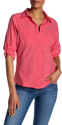 Columbia Irico Perforated Shirt $85 thestylecure.com