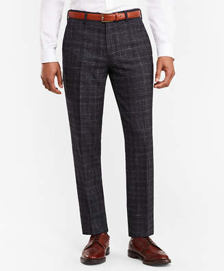 Brooks Brothers Plaid Twill Suit Trousers
