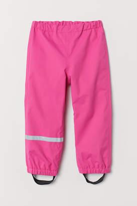 H&M Waterproof Shell Pants - Pink
