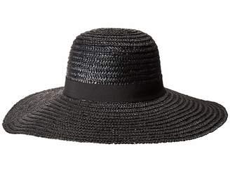 San Diego Hat Company WSH1108 Round Crown Wheat Straw Sun Brim Caps