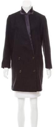 Brunello Cucinelli Double-Breasted Alpaca Coat w/ Tags