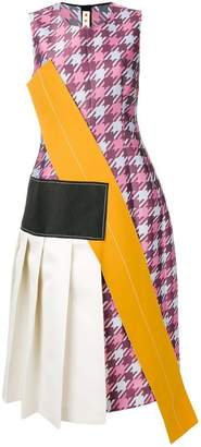 Marni panelled sleeveless dress