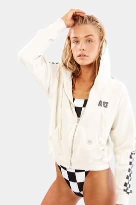 Solid & Striped Solid Striped The Malibu Hooded Zip Sweatshirt