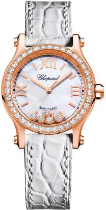Chopard Rose Gold Happy Sport Automatic Watch
