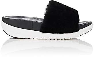 FitFlop LIMITED EDITION Women's Shearling Slide Sandals - Black