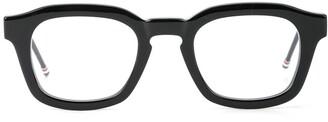 Eyewear chunky square frame glasses