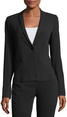T Tahari Hadar Staple-Back Jacket