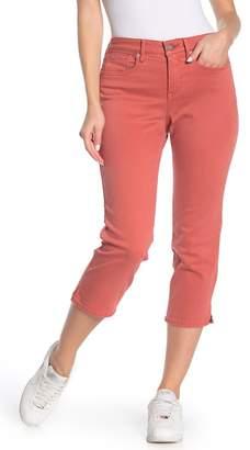 NYDJ Side Seam Slits Capri Leg Jeans