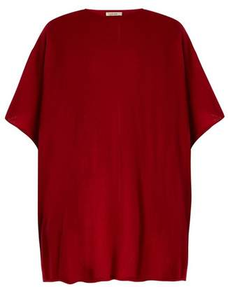 The Row Cafty Cashmere Blend Poncho - Womens - Red