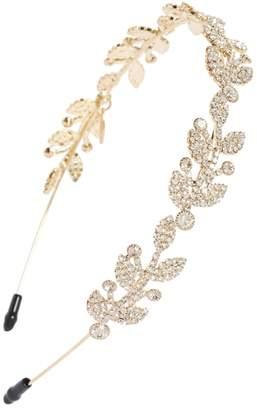 Tasha Filigree Crystal Headband
