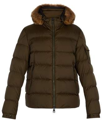 Moncler - Marque Down Jacket - Mens - Khaki
