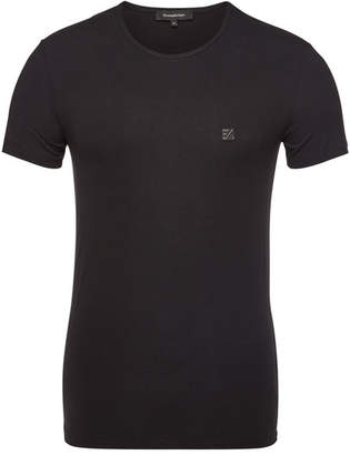Ermenegildo Zegna Cotton Stretch Round Neck T-Shirt