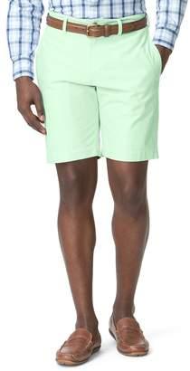 Chaps Big & Tall Classic-Fit Oxford Flat-Front Shorts