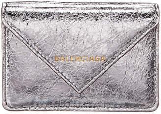Balenciaga Papier Mini Leather Wallet