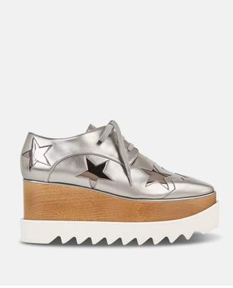 Stella McCartney Silver Eclypse Star Shoes