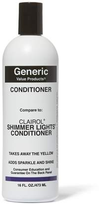 Clairol Generic Value Products Conditioner Compare to Shimmer Lights Conditioner