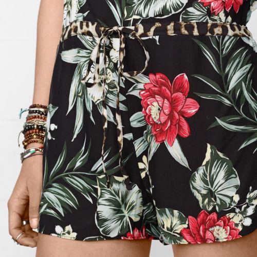 Denim & Supply Ralph Lauren Island Floral Romper