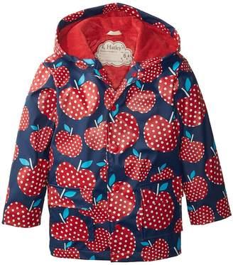 Hatley Polka Dot Apples Raincoat Girl's Coat