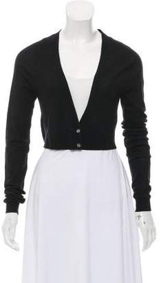 Jason Wu Wool Crop Cardigan