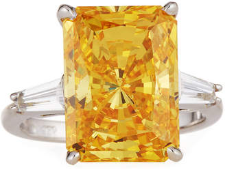 Clear Emerald Cut Ring - ShopStyle