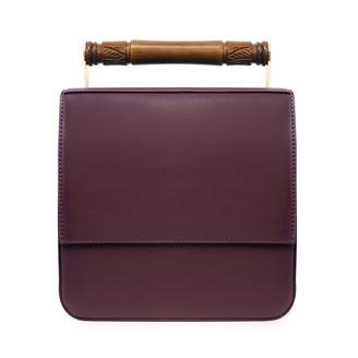 Mulberry AEVHA London - Helve Crossbody In With Wooden Handle