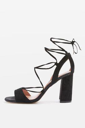 Topshop Marrakech block heel sandals