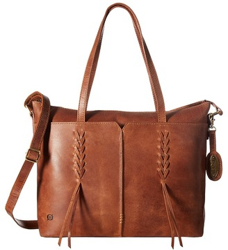 Born Distressed Leather Tote $198 thestylecure.com