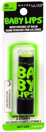 Maybelline Baby Lips Electro Lip Balm Minty Sheer