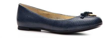 Dolce & Gabbana Reptile Leather Bow Flat