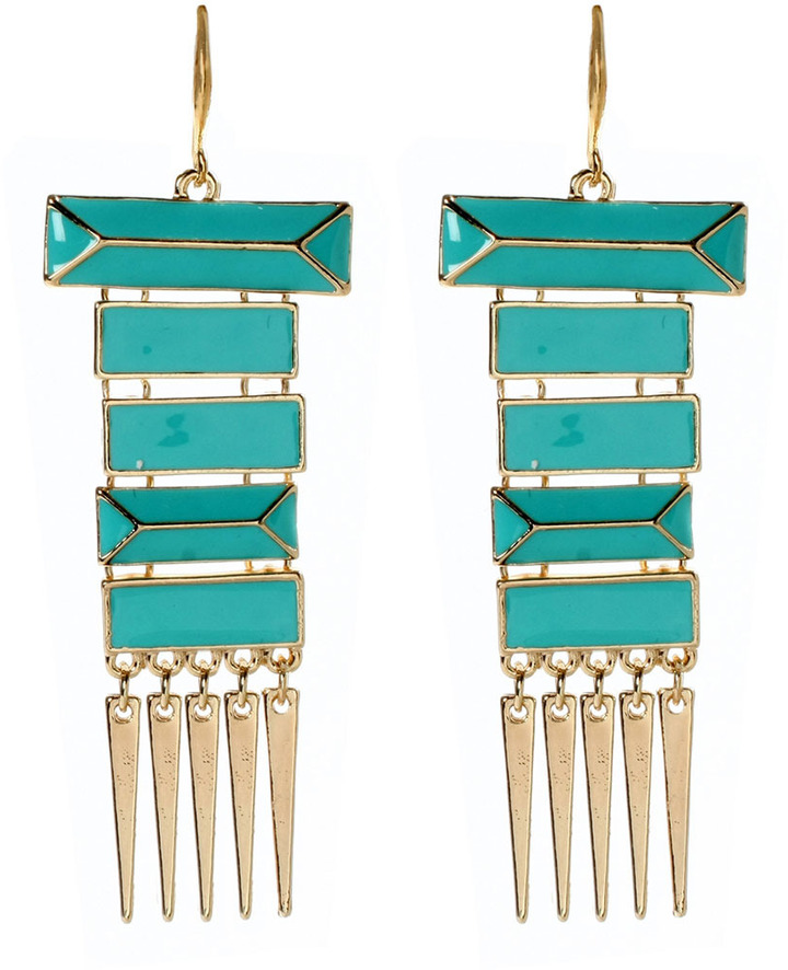 Amrita Singh Turquoise Tina Drop Earrings