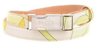 Emilio Pucci Printed Waist Belt