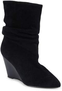 Charles by Charles David Edell Suede Mid-Calf Boots