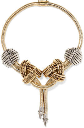 Etro Gold And Silver-tone Necklace
