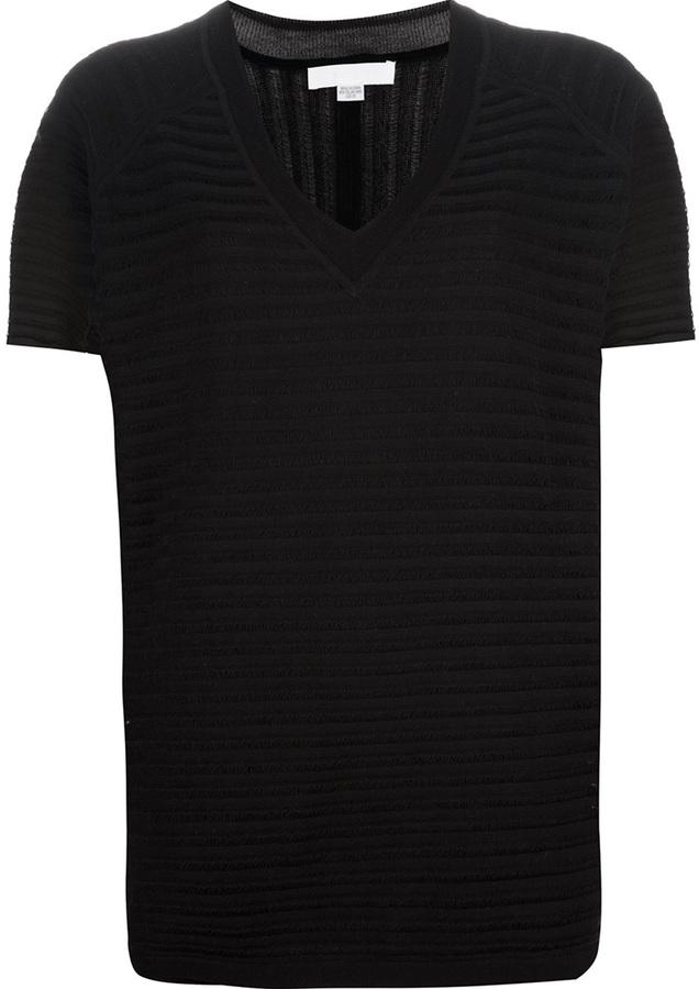 Alexander Wang striped sheer t-shirt