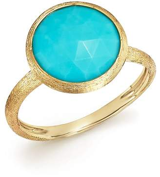 Marco Bicego 18K Yellow Gold Jaipur Ring with Turquoise