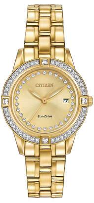 Citizen Women's Crystal Eco-Drive Watch