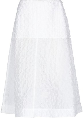 Jil Sander Navy 3/4 length skirts