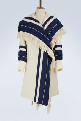 Chloé Striped knit coat