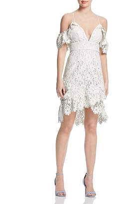 Saylor Painted Lace Dress