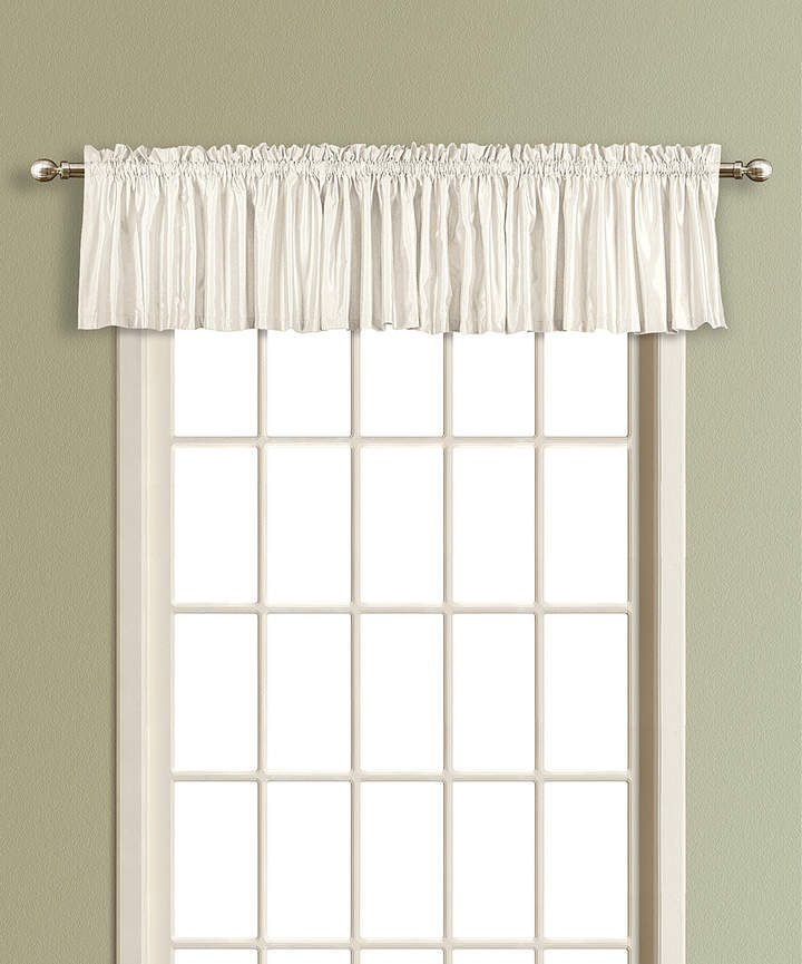 White Lincoln Blackout Valance
