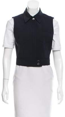 Prada Cropped Tailored Vest