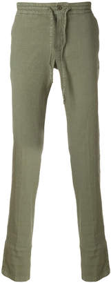 Loro Piana drawstring mid-rise trousers